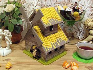 Медовый домик для конфет «Мишкина радость». Ярмарка Мастеров - ручная работа, handmade.
