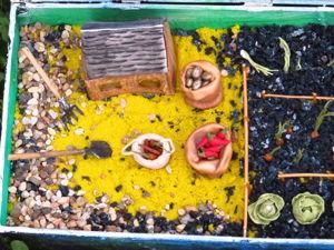 Лепим миниатюру из глины: огород на ладошке. Ярмарка Мастеров - ручная работа, handmade.