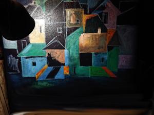 Процесс работы над диванчиком  «Сельская ночь». Ярмарка Мастеров - ручная работа, handmade.