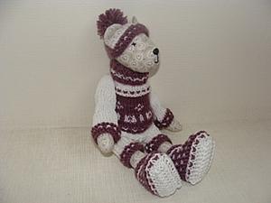 Свитер и штанишки для маленького мишки. Ярмарка Мастеров - ручная работа, handmade.