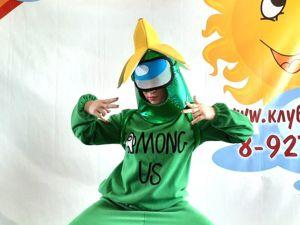 Виедо Амонг Ас зеленый с бананом. Ярмарка Мастеров - ручная работа, handmade.