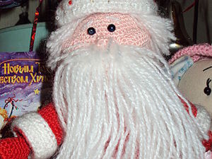 Мастер-класс. Вязаный Дед Мороз.. Ярмарка Мастеров - ручная работа, handmade.