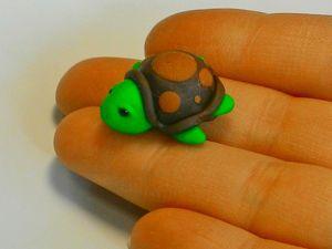 Мастерим пуговицы-черепашки из полимерной глины. Ярмарка Мастеров - ручная работа, handmade.