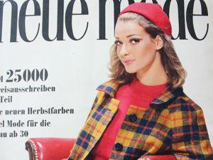 Новая мода Neue Mode 10/1966. Ярмарка Мастеров - ручная работа, handmade.