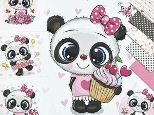 Девочка-панда. Ярмарка Мастеров - ручная работа, handmade.
