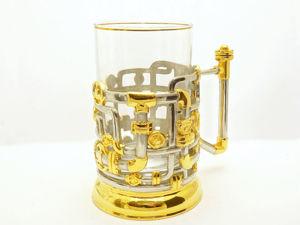 Позолоченный подстаканник  «Трубопровод» . Златоуст z91. Ярмарка Мастеров - ручная работа, handmade.