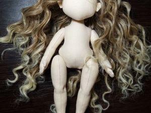 Новая заготовка, тело куклы, 21см. Ярмарка Мастеров - ручная работа, handmade.