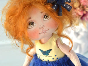 Текстильная куколка. Ярмарка Мастеров - ручная работа, handmade.