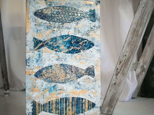 Символизм Рыбы в интерьере. Ярмарка Мастеров - ручная работа, handmade.