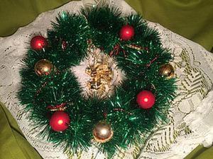 Рождественский венок за 5 простых шагов. Ярмарка Мастеров - ручная работа, handmade.