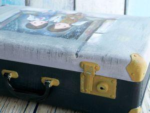 Аукцион на Ретро-Чемодан для интерьера и фотосессий. Ярмарка Мастеров - ручная работа, handmade.