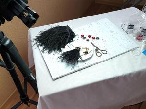 Записываю свой  первый курс по роскошным серьгам!. Ярмарка Мастеров - ручная работа, handmade.