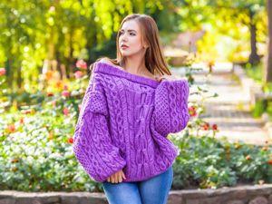 Цена дня: свитер 2500 руб. Ярмарка Мастеров - ручная работа, handmade.