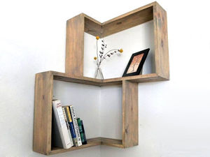 Simple and Budget Ideas for Home: Open Shelves and Ways of Mounting. Livemaster - handmade