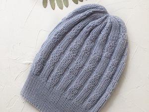Инструкция по вязанию  шапки Алькор. Ярмарка Мастеров - ручная работа, handmade.