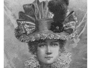 Журнал мод 1895 года. Ярмарка Мастеров - ручная работа, handmade.