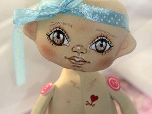 Как сшить текстильную куклу. Часть 2. Ярмарка Мастеров - ручная работа, handmade.