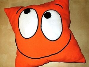 Шьем подушку-смайлик. Ярмарка Мастеров - ручная работа, handmade.