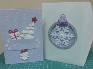Делаем оригинальную новогоднюю открытку. Ярмарка Мастеров - ручная работа, handmade.