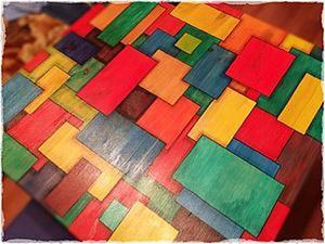 Роспись деревянного стола. 3D эффект. Ярмарка Мастеров - ручная работа, handmade.
