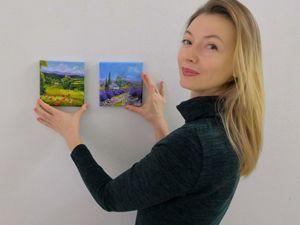 Коллекция картин с Провансом и Тосканой. Ярмарка Мастеров - ручная работа, handmade.