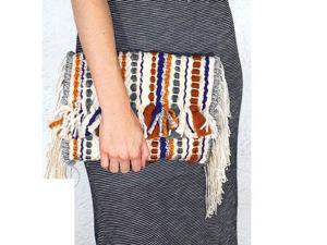 Тканые сумки. Ярмарка Мастеров - ручная работа, handmade.