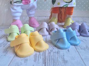 Мастер-класс: ботиночки для кукол на застежке велькро. Ярмарка Мастеров - ручная работа, handmade.