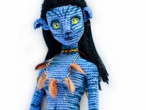 Нейтири. Подруга Аватара. мк по взанию каркасной куклы. Ярмарка Мастеров - ручная работа, handmade.