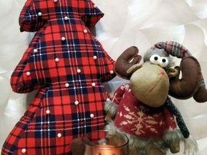 Шьем декоративную подушку-ёлку. Ярмарка Мастеров - ручная работа, handmade.