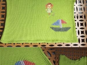 Вяжем детскую маечку «По волнам» на вязальной машине. Ярмарка Мастеров - ручная работа, handmade.