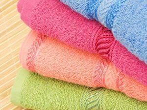 Делаем мохровые полотенца мягкими после стирки