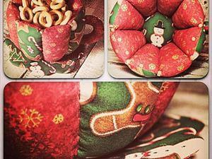 Шьем новогоднюю интерьерную Чашечку. Часть 2. Ярмарка Мастеров - ручная работа, handmade.