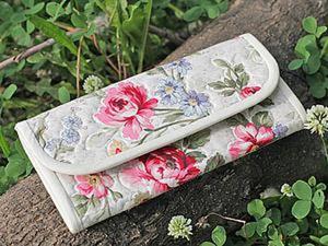 Мастер-класс: шьем текстильный кошелек. Ярмарка Мастеров - ручная работа, handmade.