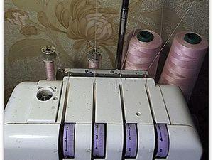 Способ экономичного использования больших бобин для оверлока. Ярмарка Мастеров - ручная работа, handmade.
