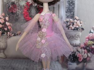 Шьем юбку-пачку для куклы-балерины. Ярмарка Мастеров - ручная работа, handmade.