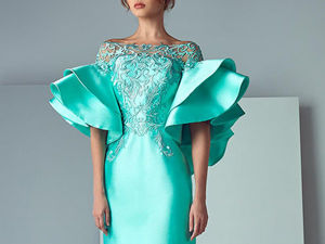 Incredible Femininity: Evening Dress by Saiid Kobeisy. Livemaster - handmade