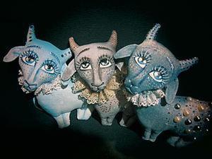 Шьем Волшебную козочку — символ 2015 года. Ярмарка Мастеров - ручная работа, handmade.