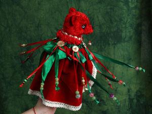 Marotte Пуансеттия — Рождественский цветок. Ярмарка Мастеров - ручная работа, handmade.