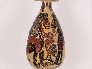 Алабастрон — неизвестный представитель древнегреческой керамики. Ярмарка Мастеров - ручная работа, handmade.