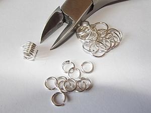 Колечки из проволоки и  инструмент для работы за копейки. Ярмарка Мастеров - ручная работа, handmade.