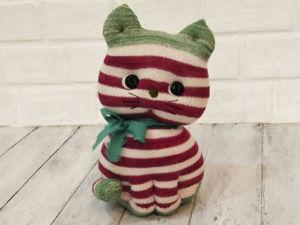 Как сшить котёнка из носков. Ярмарка Мастеров - ручная работа, handmade.