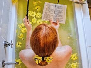 Вам больше не захочется мыться, если ваше купание не похоже на это: «ванный» фотопроект Эммы Джун. Ярмарка Мастеров - ручная работа, handmade.