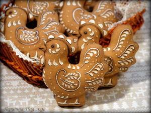 Шьём пряничного петушка — символ 2017 года. Ярмарка Мастеров - ручная работа, handmade.