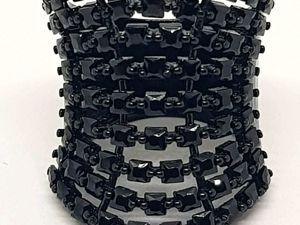 Акция!!! — 25% при покупке кольца  «Тайна королевы»  и серег на выбор с черной шпинелью + подарок!!!. Ярмарка Мастеров - ручная работа, handmade.