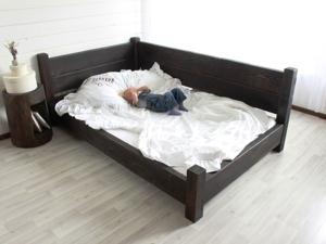 Кровать из лиственницы. Ярмарка Мастеров - ручная работа, handmade.