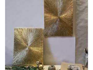 Интерьерные картины  «Лучи». Ярмарка Мастеров - ручная работа, handmade.