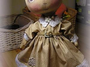 Шьем платье для тыковки. Ярмарка Мастеров - ручная работа, handmade.