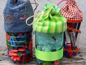 Из ненужного - нужное: сумочки из бутылок. Ярмарка Мастеров - ручная работа, handmade.
