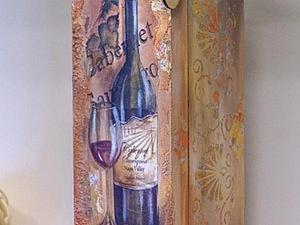 Изготовление короба для вина. Ярмарка Мастеров - ручная работа, handmade.