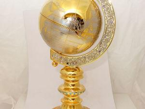 Глобус  «Золотой» . Златоуст z374. Ярмарка Мастеров - ручная работа, handmade.